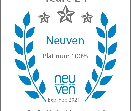ICare24 Awarded Neuven Platinum Standard Rating